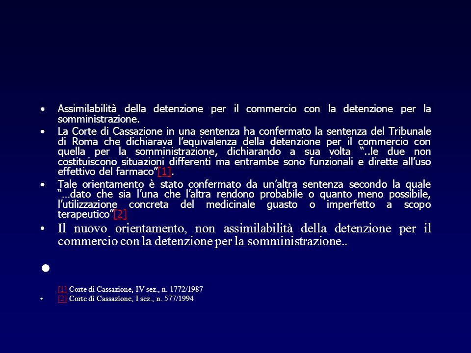 [1] Corte di Cassazione, IV sez., n. 1772/1987
